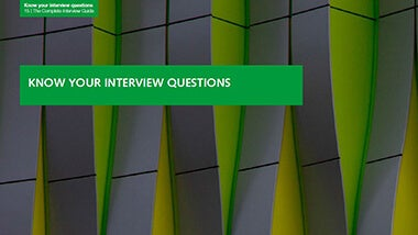 3. Know your interview questions