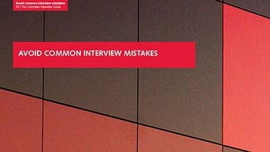 4. Avoid common interview mistakes