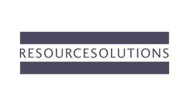 Resource Solutions link blue